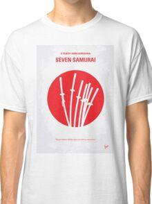 No200 My The Seven Samurai minimal movie poster Classic T-Shirt