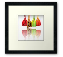 2011 tags Framed Print