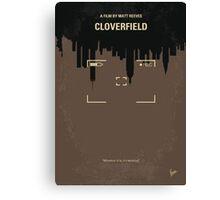 No203 My Cloverfield minimal movie poster Canvas Print