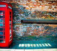great british red telephone box by siobhanelizabet