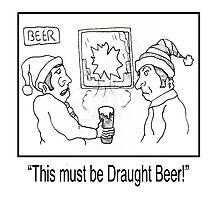 Funny Pub Cartoon. Photographic Print