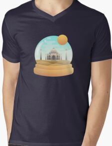 Sand Globe Mens V-Neck T-Shirt