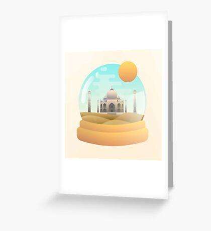 Sand Globe Greeting Card