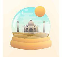 Sand Globe Photographic Print
