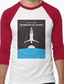 No208 My The Man Who Fell to Earth minimal movie poster T-Shirt