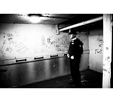 met police man london Photographic Print