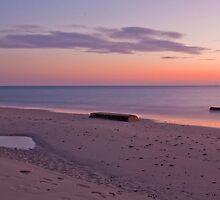 Sunset Over West Beach, South Australia by burrster