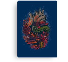 heart of the sea Canvas Print