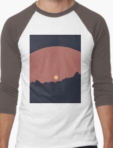 Colourful Sun Men's Baseball ¾ T-Shirt