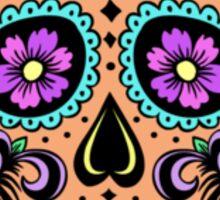 Pastel Mexican Sugar Skull Sticker