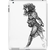 Walk tall [Pen Drawn Figure Illustration] iPad Case/Skin