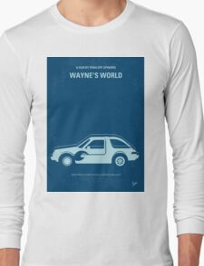 No211 My Waynes World minimal movie poster Long Sleeve T-Shirt