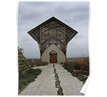 Holy Family Shrine Church Poster
