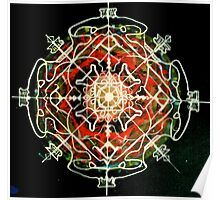 Mandala of fearlessness Poster