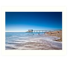Selsey Lifeboat Station Art Print