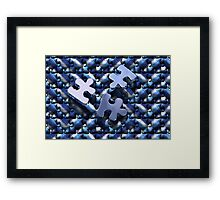 Jigsaw 3  Framed Print