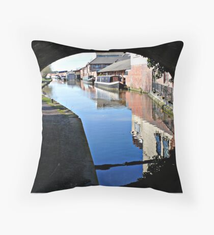 The Worcester Canal Throw Pillow