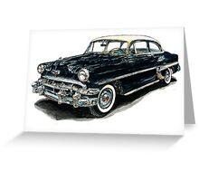 1953 Chevy Greeting Card