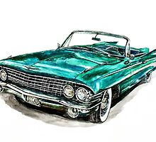 1961 Cadillac by Ob-Art