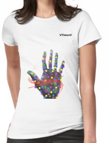 Happy Palm Womens Fitted T-Shirt