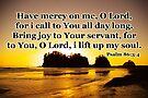 sunset gold prayer psalm by dedmanshootn