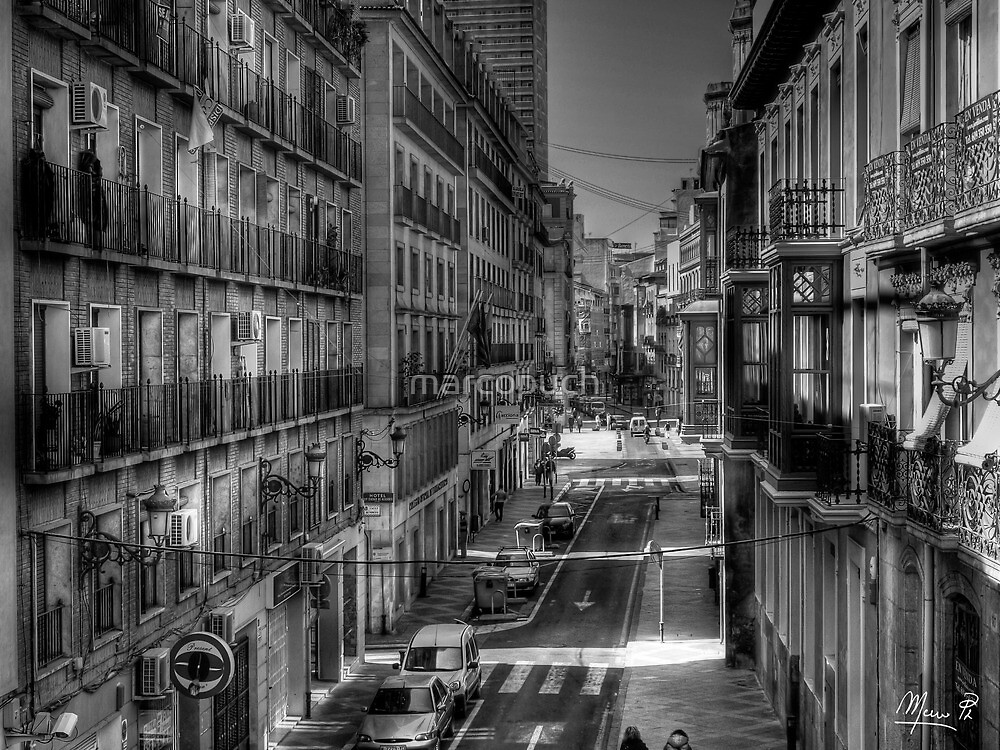 Center of Alicante  by marcopuch