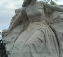 Nagasaki Peace Park Statue by Shirley Tyler-Bowman