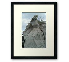 Nagasaki Peace Park Statue Framed Print