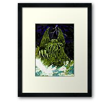 H P Lovecraft's Cthulhu Framed Print