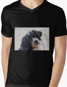 cute dog Mens V-Neck T-Shirt