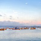 Dusk at Coquimbo Bay by Daidalos
