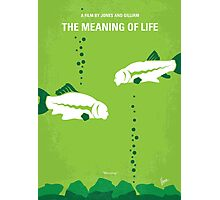 No226 My The Meaning of life minimal movie poster Photographic Print