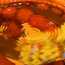 Orange Under Glass by Charldia