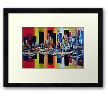 City London Skyline_4835 Framed Print
