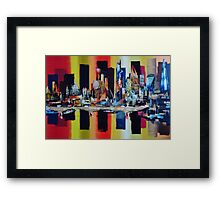 City London Skyline_4835 Framed Print