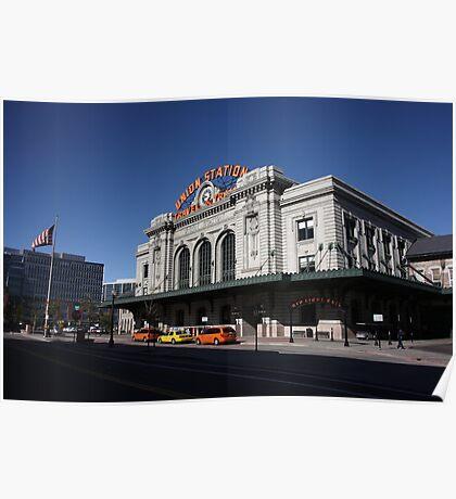 Denver - Union Station Poster