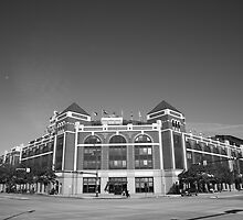 Texas Rangers Ballpark in Arlington by Frank Romeo