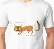 Asian Golden Cat Unisex T-Shirt