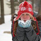 Blowing Snow- South Lake Park by Jennifer  Arganbright