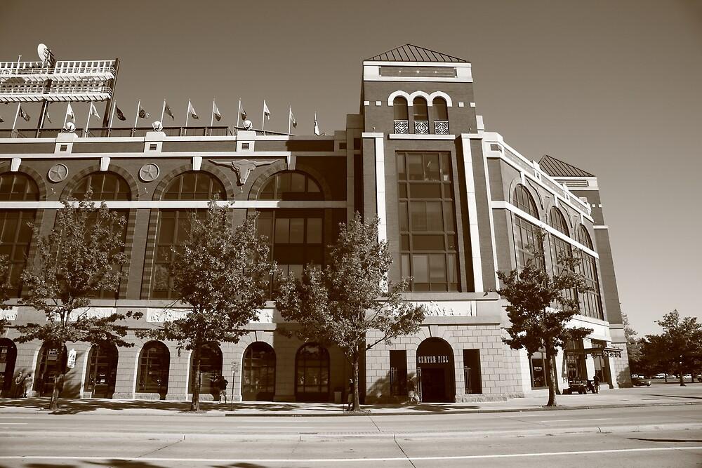 Texas Rangers Ballpark in Arlington by Frank Romeo