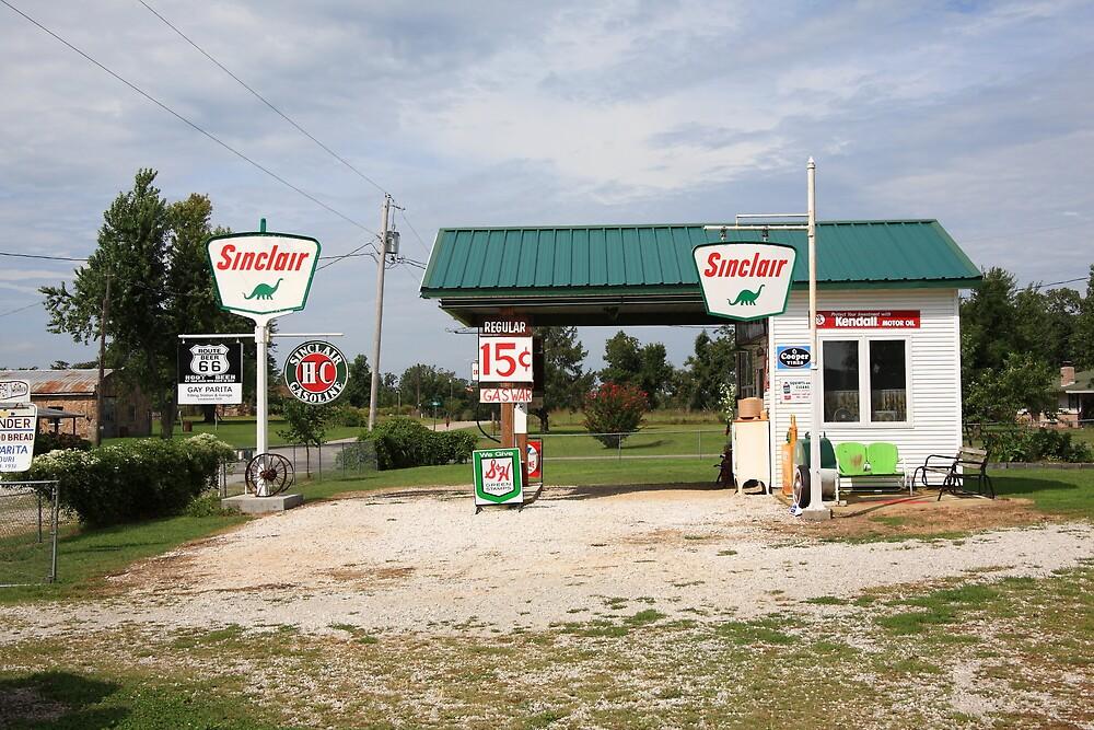 Route 66 - Paris Springs, Missouri by Frank Romeo