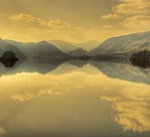 Derwentwater in March by VoluntaryRanger