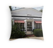 Route 66 - Boots Motel Throw Pillow