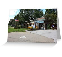 Route 66 - Eisler Brothers Old Riverton Store Greeting Card