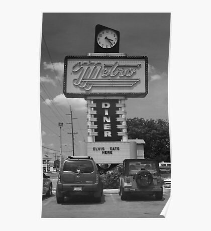 Route 66 - Metro Diner Poster