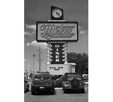 Route 66 - Metro Diner Photographic Print