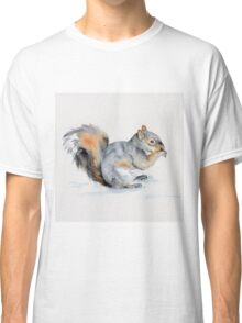 Squirrel's winter snacktime Classic T-Shirt