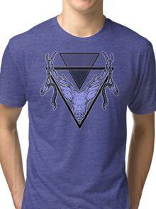 Triangle Deer 2 Tri-blend T-Shirt