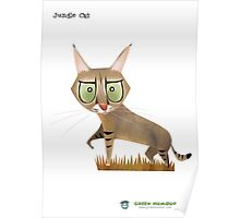 Jungle Cat Poster