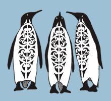 Tribal Penguins One Piece - Short Sleeve